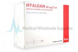 HYALGAN® Italian 5 syringes 20mg/ml 5-2ml prefilled syringes