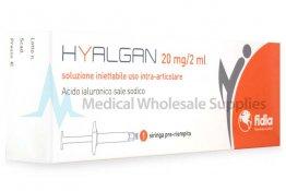 HYALGAN® Italian 20mg/ml 1-2ml prefilled syringe