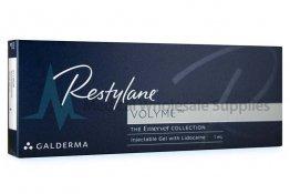 RESTYLANE® VOLYME (EMERVEL VOLUME) 0.3% LIDOCAINE 1mL 20mg/ml, 3mg/ml 1-2ml prefilled syringe