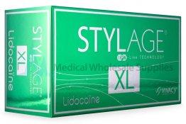 STYLAGE® XL w/Lidocaine 26mg/ml, 3mg/ml ml 2-1ml prefilled syringes pre-filled syringe(s)