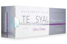 TEOSYAL® PURESENSE ULTRA DEEP 2x1.2ml 25mg, 3mg 2-1.2ml prefilled syringes